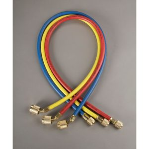 "Yellow Jacket 22986 3-Pak (RYB) 72"" PLUS II Hoses w/ SealRight Fittings"
