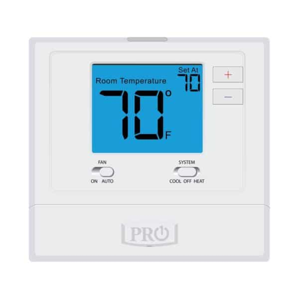 Picture of a Pro1 701 Non-programmable thermostat