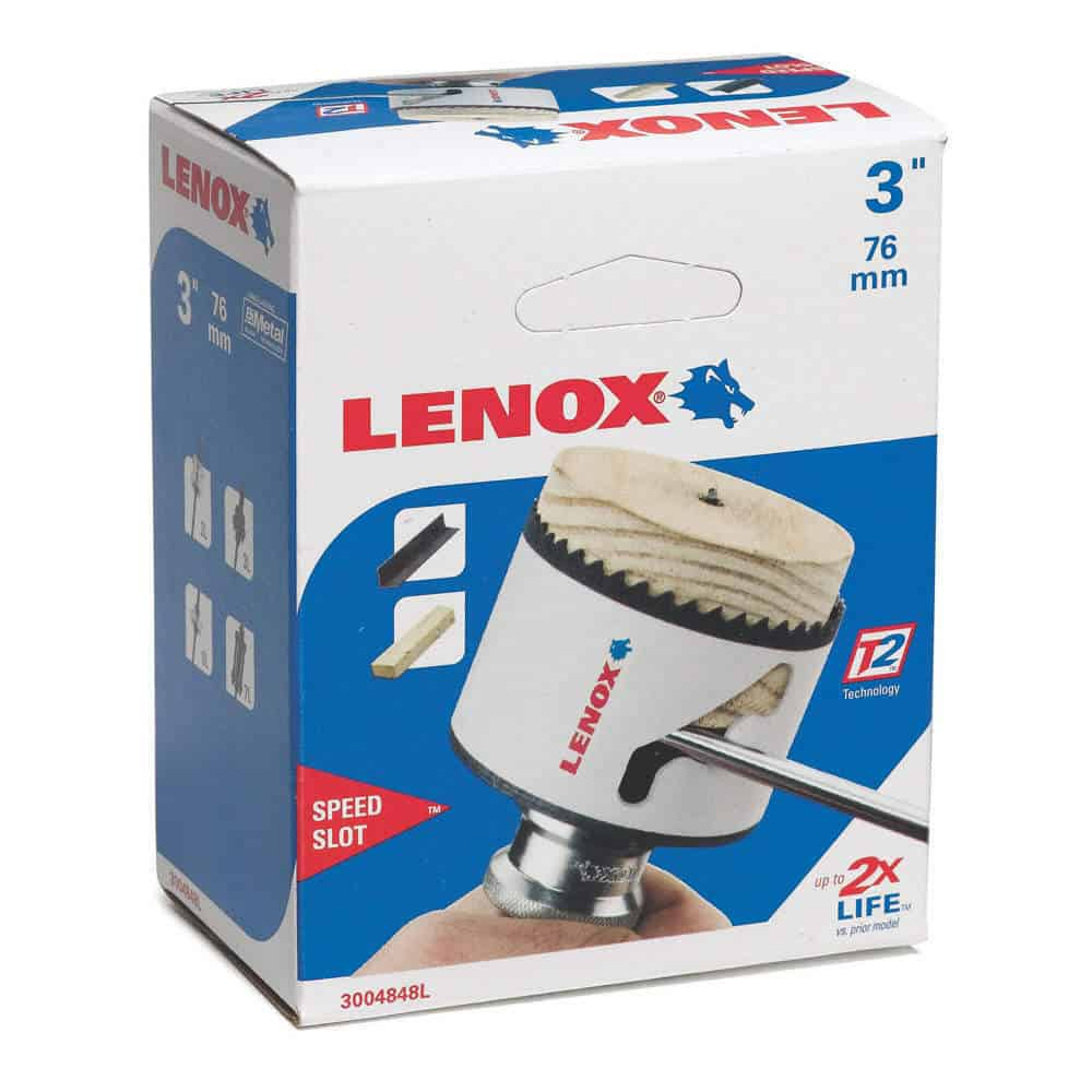 """Lenox Tools 1779669 Snap-Back™ 5L Arbor for 9//16 to 1-3//16/"""" Hole Saws"""