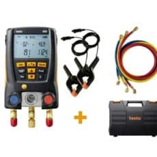 Testo 550 kit with hoses and clamps