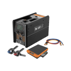 Navac NRC62D Refrigerant Charging Machine, Scale, Temp Probes and Hoses
